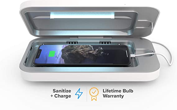 Smart phone sanitizers